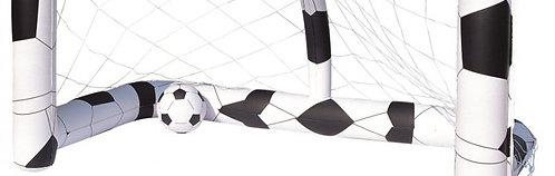 Fussballtor aufblasbar + 2 Bälle
