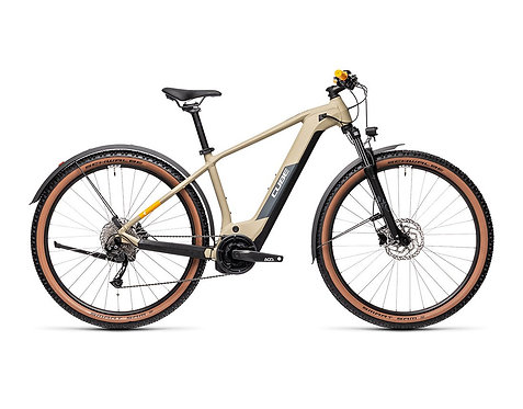 Cube Reaction Hybrid Performance 500 Allroad desert´n´orange  E-Bike Hardtail