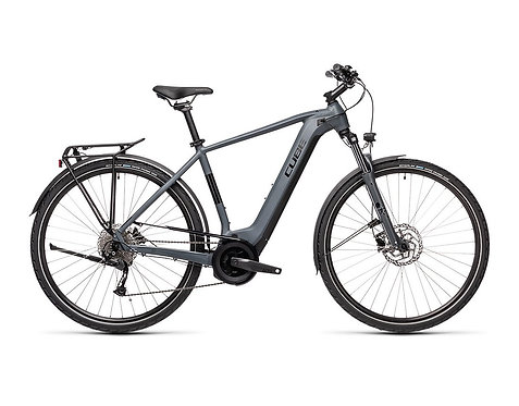 CUBE Touring Hybrid ONE 625 grey´n´black