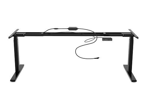 Tischgestell Stehpult schwarz 180 - 200 cm