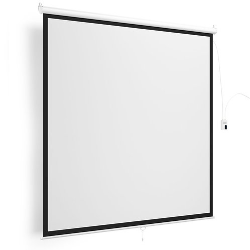 Beamer Leinwand elektrisch 200 x 200 cm