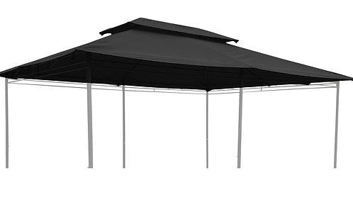 Dach für Gazebo 3 x 4 m Art. 15643 anthrazit