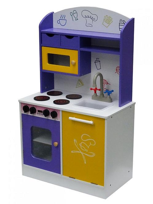 Spielküche violett
