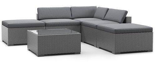 Ersatzkissen Lounge TEXAS anthrazit