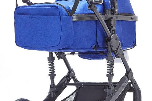 Kinderwagen MOTION blau / schwarz