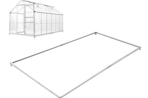 Fundament für Gewächshaus 375 x 190 cm
