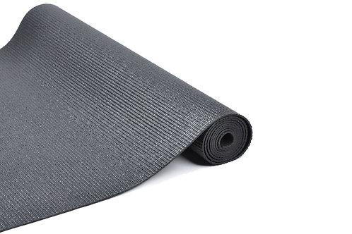 Yogamatte schwarz 173 x 61 x 0.4 cm