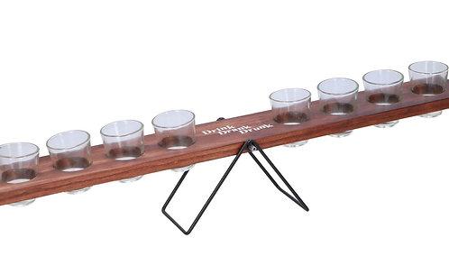Trinkspiel Schnaps-Wippe