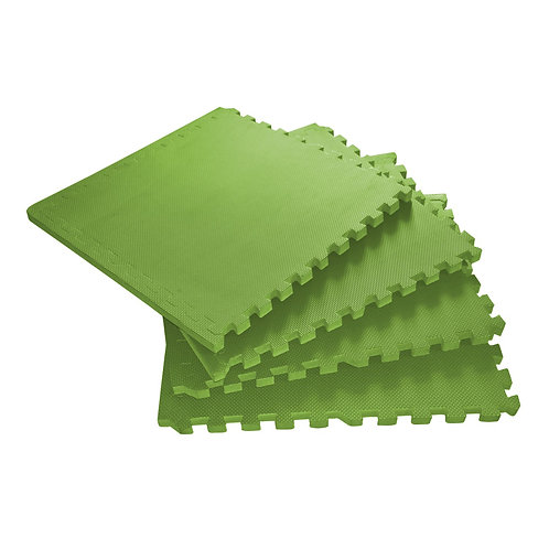 Bodenmatte 61 x 61 x 2 cm grün 4er Set