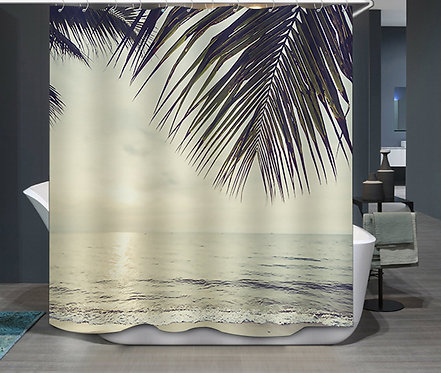 Duschvorhang Strand
