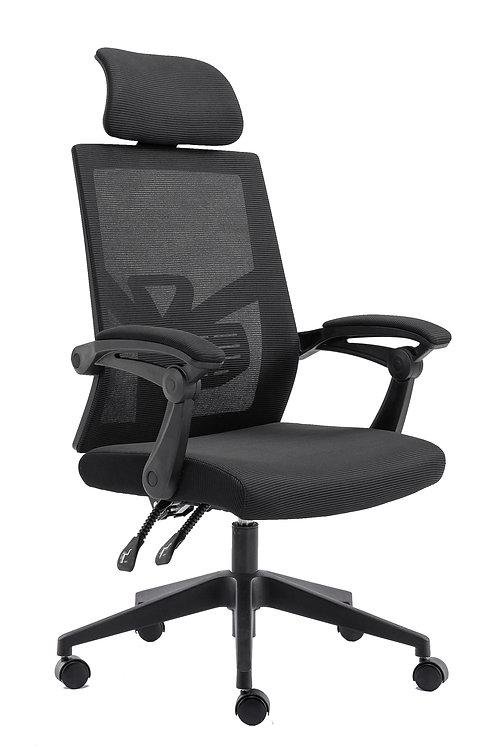 Bürostuhl Kippbar DOMINUS schwarz
