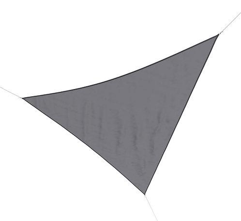 Sonnensegel Polyester 5 x 5 x 5 m grau