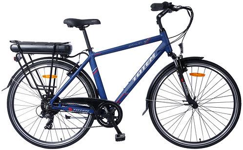 E-Bike City 52 cm PRIVILEGE blau
