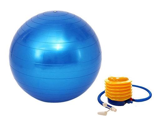 Gymnastikball 75 cm blau inkl. Pumpe