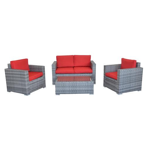Ersatzkissen für Lounge VENEZIA rot