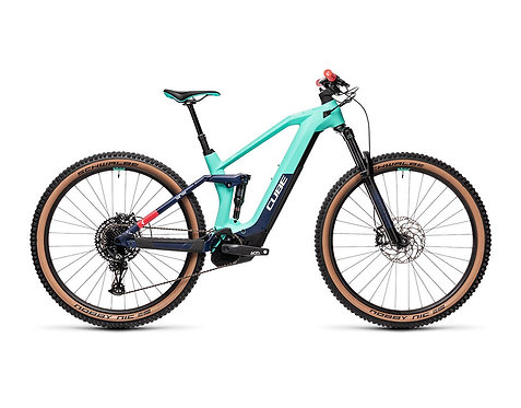 Cube Stereo Hybrid 140 HPC Race 625 team E-Bike Fully