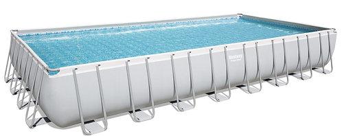 Bestway Swimming Pool Komplett-Set 956 x 488 x 132 cm