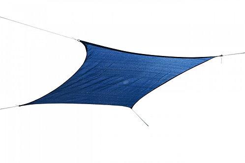 Sonnensegel Quadrat 5x5m blau