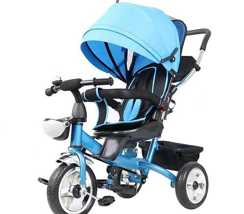 Dreirad Kinderwagen ELIA 2-in-1 hellblau