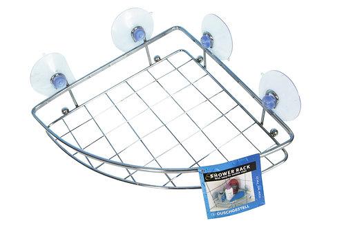 Duschgestell aus Chrom 20 x 27 cm