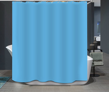 Duschvorhang Blau