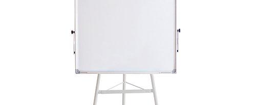 Flipchart Whiteboard mit Dreibein-Stativ