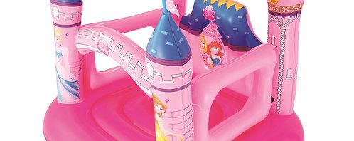 Hüpfburg Disney pink