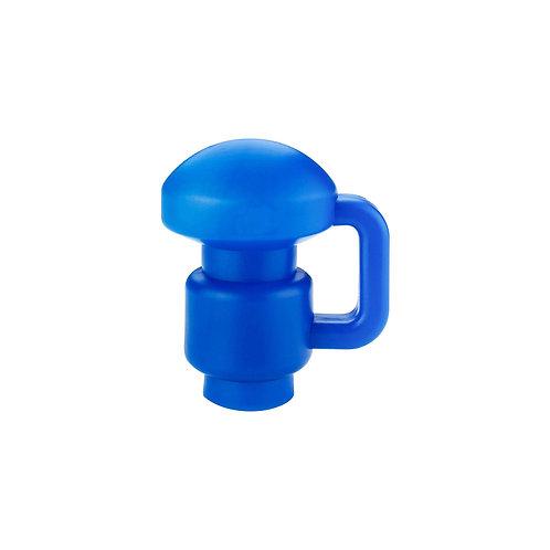 Endkappe für Trampolinstangen blau