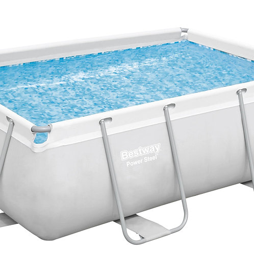 Bestway Pool mit Filterpumpe 282 x 196 x 84 cm