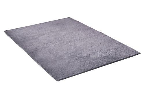 Teppich 80 x 150 cm grau