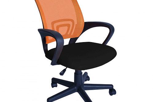 Bürostuhl MONEYPENNY orange schwarz