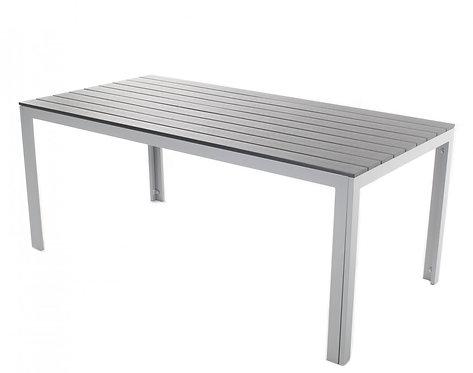 Tisch Polywood 180x90 cm anthrazit