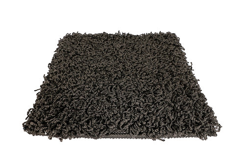 Hochflor Teppich 80 x 150 cm anthrazit