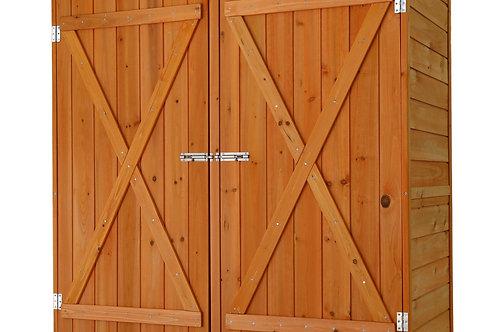 Gerätehaus aus Holz 138 x 66 x 160 cm