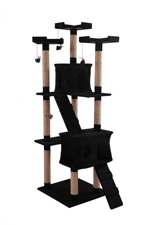 Katzenkratzbaum MAX schwarz