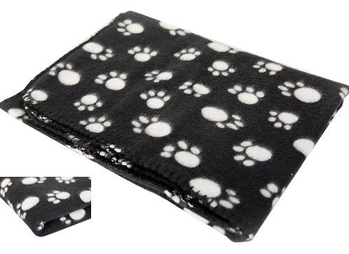 Haustierdecke 140 x 100 cm schwarz