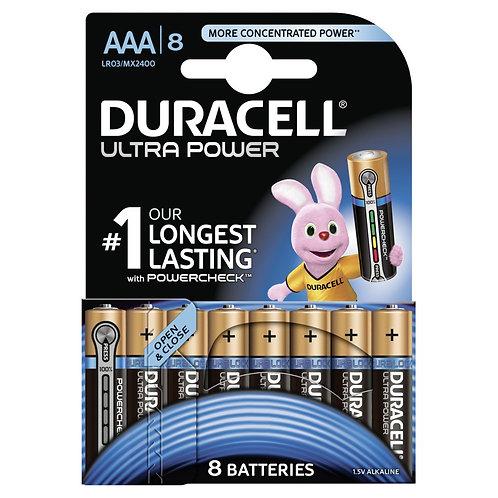 DURACELL Ultra Power Batterien AAA MX2400 / LR03 8 Stk.