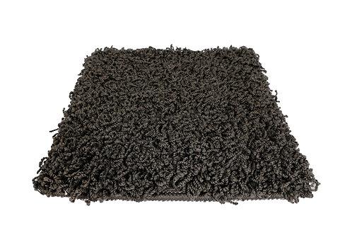 Hochflor Teppich 60 x 110 cm anthrazit