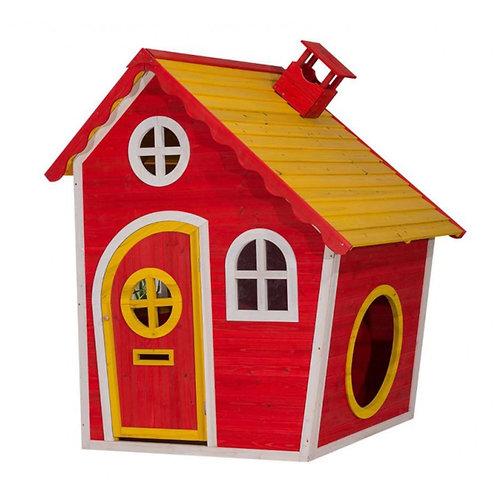 "Spielhaus ""Red Temple"" aus Holz"