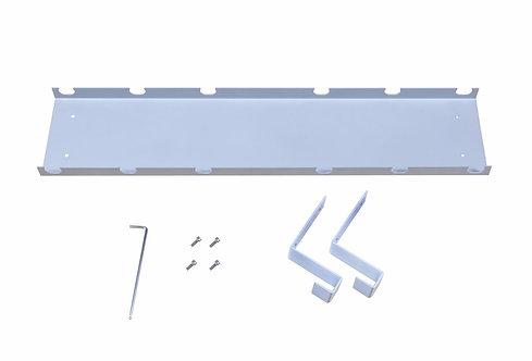 Kabelkanal für Stehpult grau