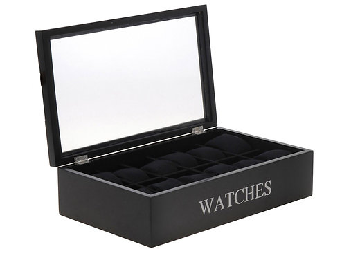 Uhrenbox für 12 Armbanduhren