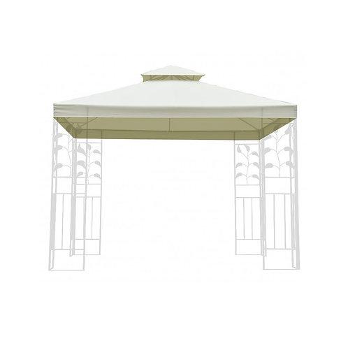 Dach für Gazebo 3 x 3 m Art. 1431