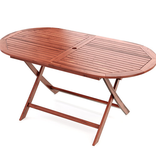 Gartentisch oval LISSABON 160cm