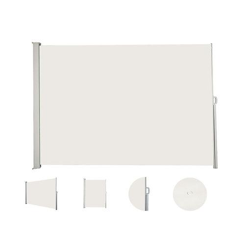 Seitenmarkise 200 x 400 cm beige