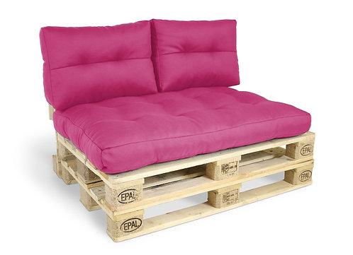 Palettenkissen Set für Palettenmöbel pink