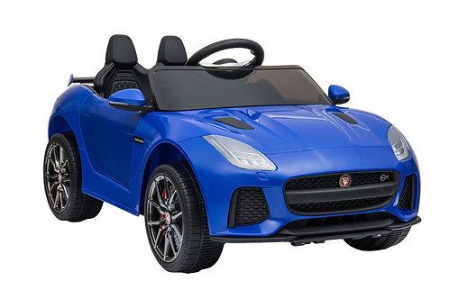 Elektroauto Kinder Jaguar blau