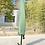 Thumbnail: Ampelschirm mit LED 350 cm grün