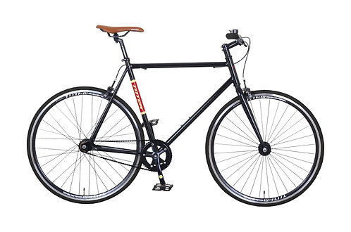 Fixie Bike 57 cm URBAN BROWN