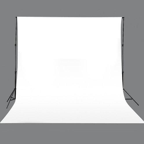 Hintergrundstoff 3x3 m weiss