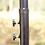 Thumbnail: Ampelschirm mit LED 350 cm weiss
